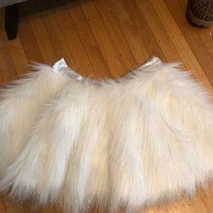 Dresses & Skirts - White sparkly tutu skirt